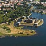 Kalmar slott från luften